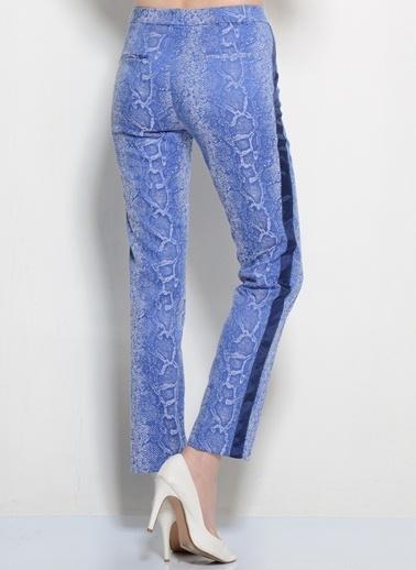 Asymmetry Pantolon Lacivert
